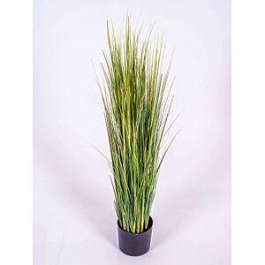 artplants.de Hierba de Junco Decorativa, Verde, 90cm - Hierba Artificial - Planta sintética