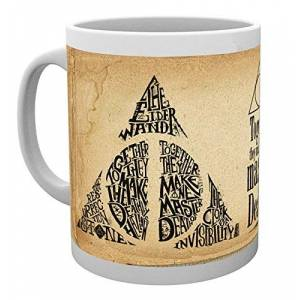 GB Eye, Harry Potter, Deathly Hallows Words, Taza