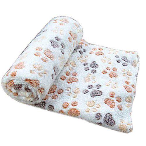 sunlera caliente suave del animal doméstico manta polar cama mat cubierta del amortiguador del cojín para el perro de perrito del gato animal