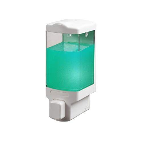 ffshop dispensadores de loción y de jabón dispensador de jabón montado en la pared hogar desinfectante de manos baño ducha gel botella botella de detergente de cocina despachador de jabón
