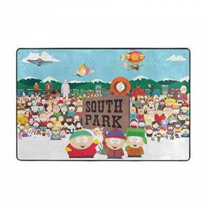 BeiLinQuRuiYinYuanBai South Park Fashionable Area Rugs Non-Slip Floor Mat Doormats for Living Room Bedroom 60x39 Inches