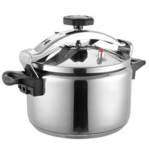 ljxwh olla de cocina olla universal de cocina de inducción olla de acero inoxidable de la leche olla vaporera se puede utilizar en la cocina suministros de hotel (color : silver, size : 20l)