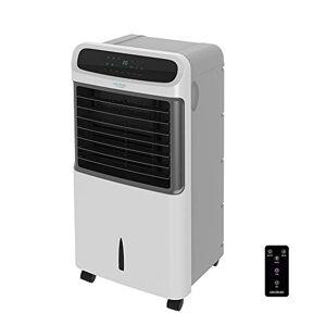Cecotec Climatizador Evaporativo EnergySilence PureTech 6500. Doble Funcin Frio / Calor, gran Caudal 600 m_/h, 12l de Capacidad, Temporizador hasta 8 Horas, Mando a Distancia, 3 Velocidades, 80W
