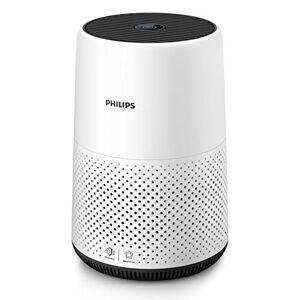 Philips AC0820/10 Purificador De Aire Para Hogar, Elimina Hasta 99,5% De Los Alérgenos, Tamaño Compacto Con Indicación En Color Y Silencios, Blanco, Superficie: 49 m