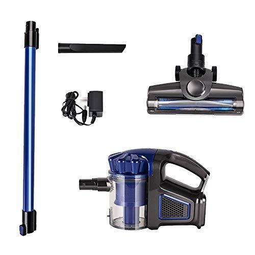 zrzjbx aspiradora escoba inalambrica sin cable gris intercambiable - batería7500pa, accesorios, ligera y portátil, filtro hepa, ciclónico, para tapicería y zonas estrechas,a