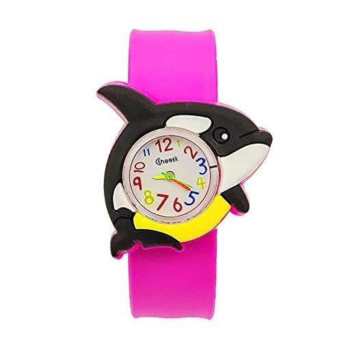 XIANGAN Bebé reloj Juguetes para bebés, regalo de fiesta, reloj para niños, reloj para niñas, relojes para niños, relojes electrónicos para niños de 1 a 9 años, reloj para niños