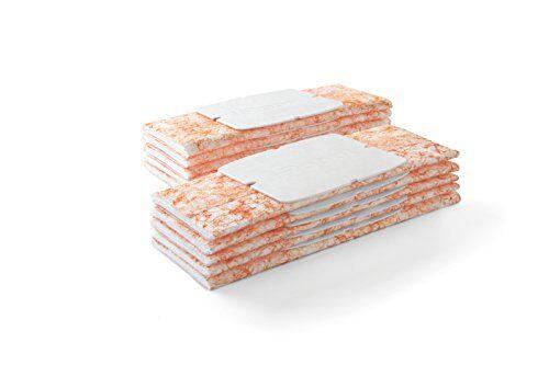 irobot braava jet paños de limpieza para barrer en húmedo, pack de 10 unidades, naranja