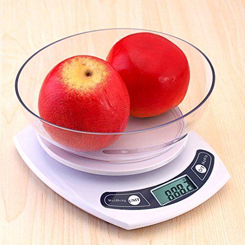 básculas de cocina dww digital kitchen scale hornear alimentos de precisión con pantalla lcd slim design for home electronic cooking food scale