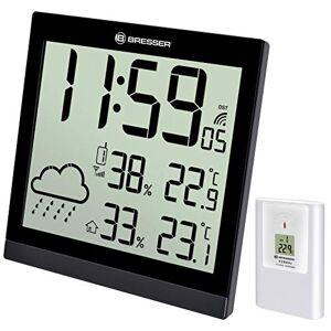 Bresser TEMEOTREND JC LCD Reloj METEOROLGICO NEGRO