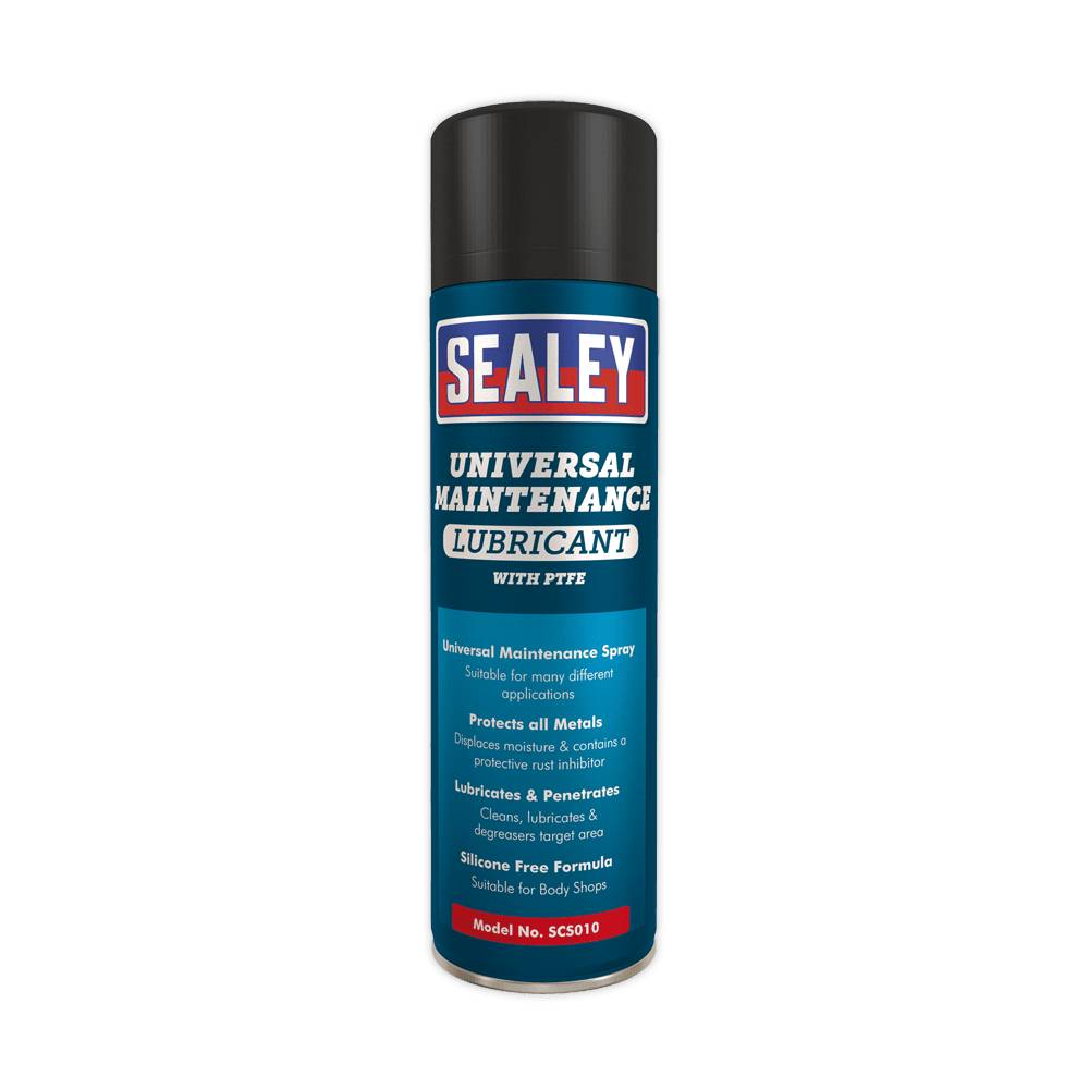 Sealey Lubricante universal automotriz en espray 500 ml.SCS010