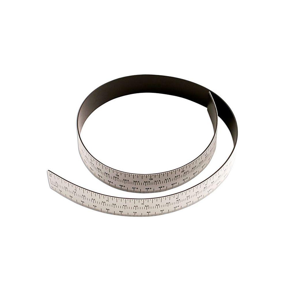 Power Tec Regla magnética para carrocería. 605 mm.