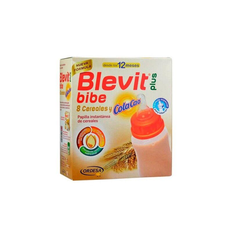 Blevit Plus 8 Cereales y Colacao +12m  600g
