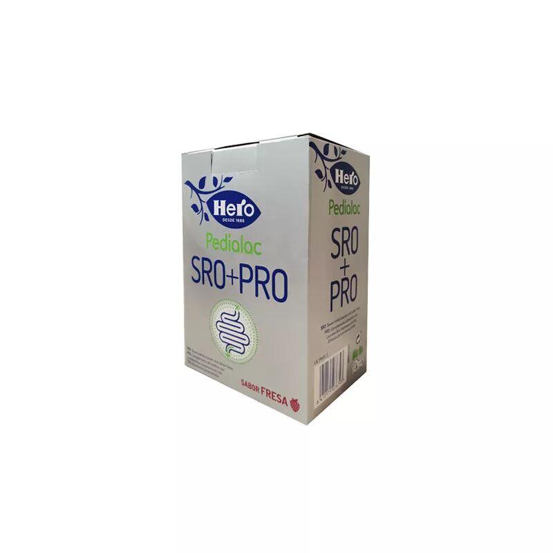 Hero Baby Pedialac Pack SRO Sabor Fresa 3x200ml + PRO 7,5ml