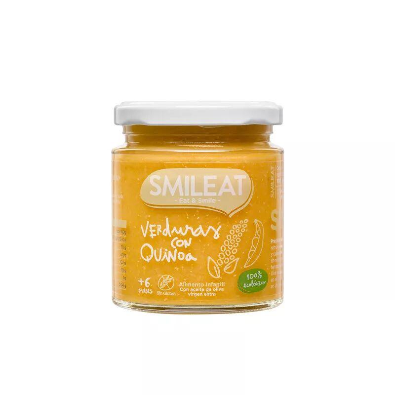 Smileat Tarro Verduras con Quinoa 230gr