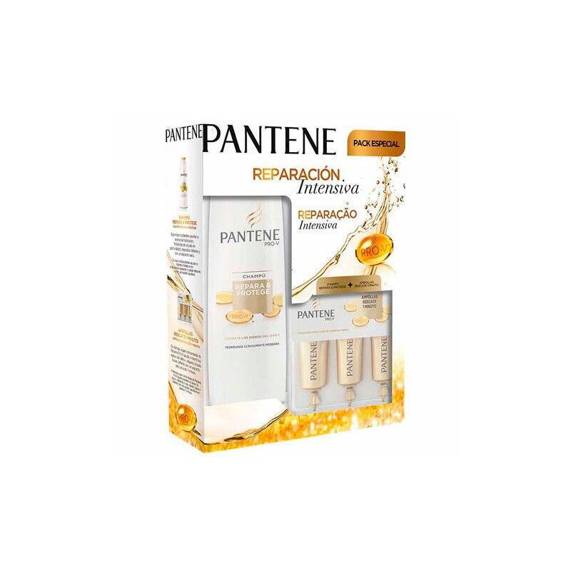 Pantene Pack Repara & Protege Champú 360ml + Ampollas 45ml
