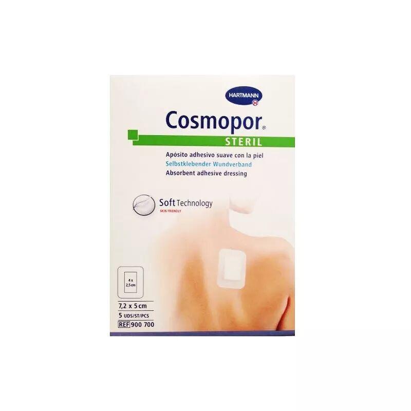 Hartmann Cosmopor Steril Apósito Adhesivo 7,2x5cm 5 uds.