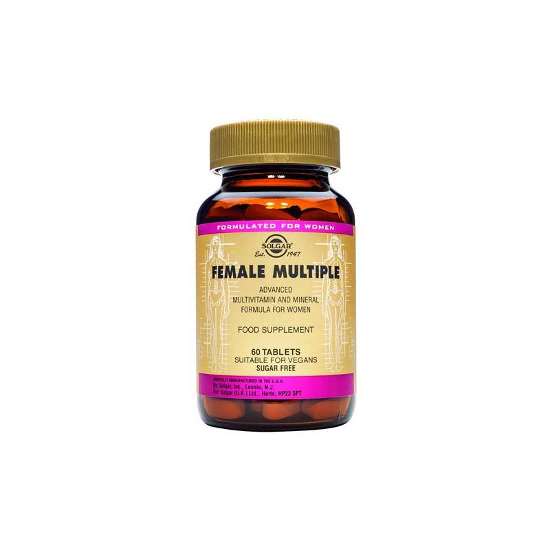 Solgar Female Multiple 60 Comprimidos