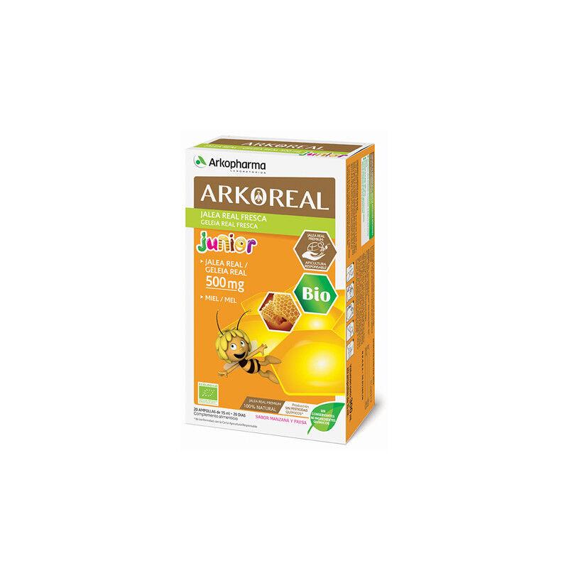 Arkopharma Arkoreal Jalea Real 500mg Fresca Junior BIO 20 ampollas