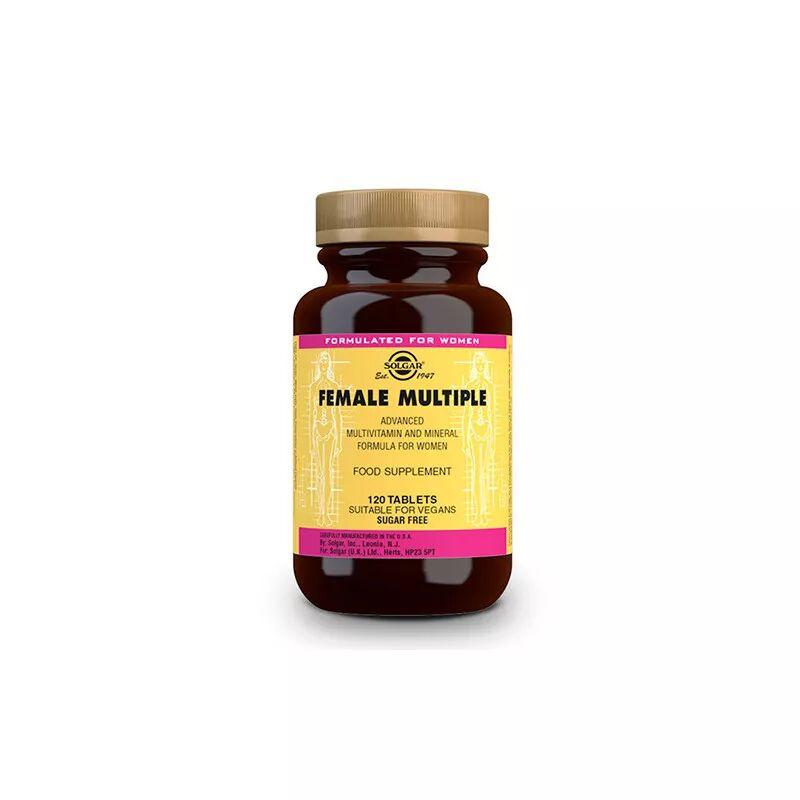 Solgar Female Multiple Complemento Mujer 120 Comprimidos