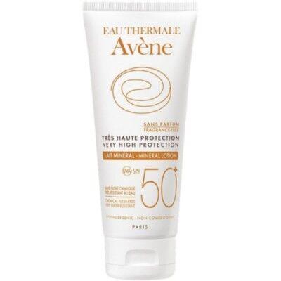 Avene Avène Leche SPF50+ Pantalla Física, 100 ml