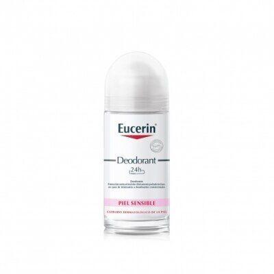 Eucerin Desodorante Piel Sensible Roll-On 24h, 50 ml