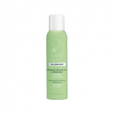 Klorane Desodorante Spray a la Althea Blanca , 150 ml