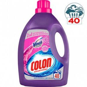 Colon Detergente en Gel Vanish Ultra , 40 la