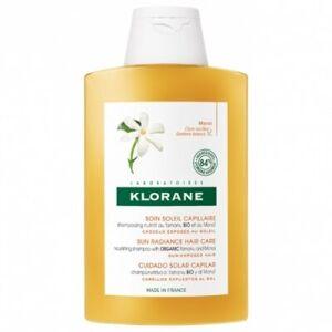 Klorane Champú Tamanu Bio y Monoi, 200 ml