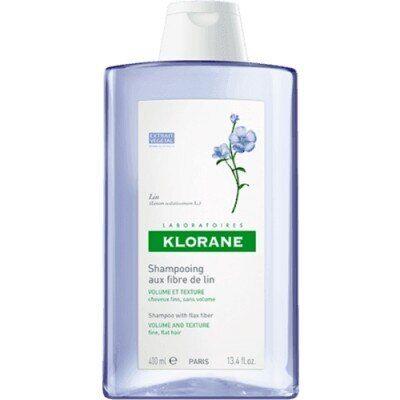Klorane Champú a las Fibras de Lino , 400 ml