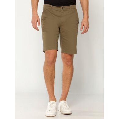 Only & Sons Shorts hombre algodón estilo chinos verde
