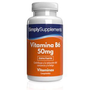 Simply Supplements Vitamina B6 50mg - 360 Comprimidos