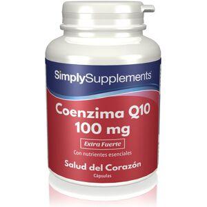 Simply Supplements Coenzima Q10 100 mg - 180 Cápsulas