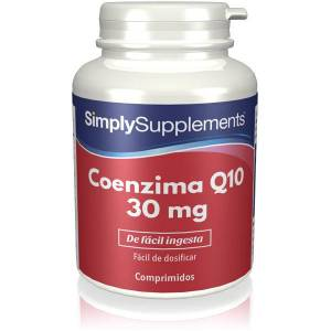 Simply Supplements Coenzima Q10 30 mg - 120 Cápsulas