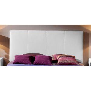 Ingravity Cabecero de cama Tapizado en Polipiel Sinoa Liso medida de Cama de 150,color Blanco
