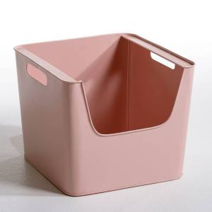 AM.PM Caja de metal An. 37 x Al. 31,5 cm, Arreglo ROSA