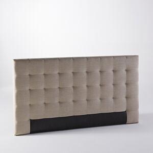 AM.PM Cabecero de cama Selve, al. 100 cm, efecto capitonado GRIS