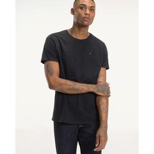 TOMMY JEANS Camiseta Original de punto con cuello redondo GRIS