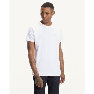 TOMMY JEANS Camiseta Original de punto con cuello redondo NEGRO