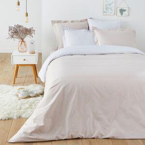 LA REDOUTE INTERIEURS Funda nórdica bicolor de algodón, Scenario GRIS