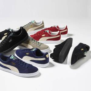 PUMA Zapatillas Suede Classic + NEGRO