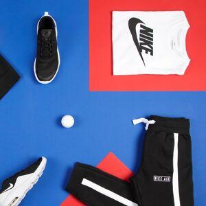 Nike Camiseta de manga corta estampada, 6 - 16 años BLANCO