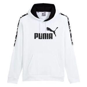 PUMA Sudadera con capucha Amplified BLANCO
