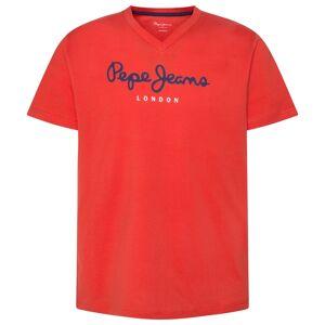 PEPE JEANS Camiseta con cuello de pico Eggo AZUL