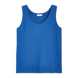LA REDOUTE COLLECTIONS PLUS Camiseta de tirantes de mezcla de lino ROJO