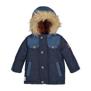 LA REDOUTE COLLECTIONS Parka con capucha, forro cálido, 3 meses-3 años AZUL