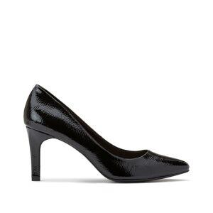 LA REDOUTE COLLECTIONS Zapatos de charol con tacón NEGRO