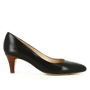 JONAK Zapatos de piel de tacón, Dabi NEGRO