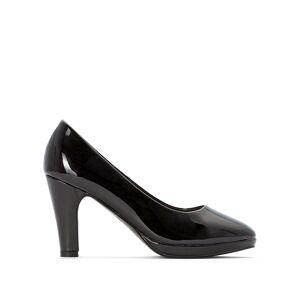 LA REDOUTE COLLECTIONS PLUS Zapatos de tacón de charol ROSA