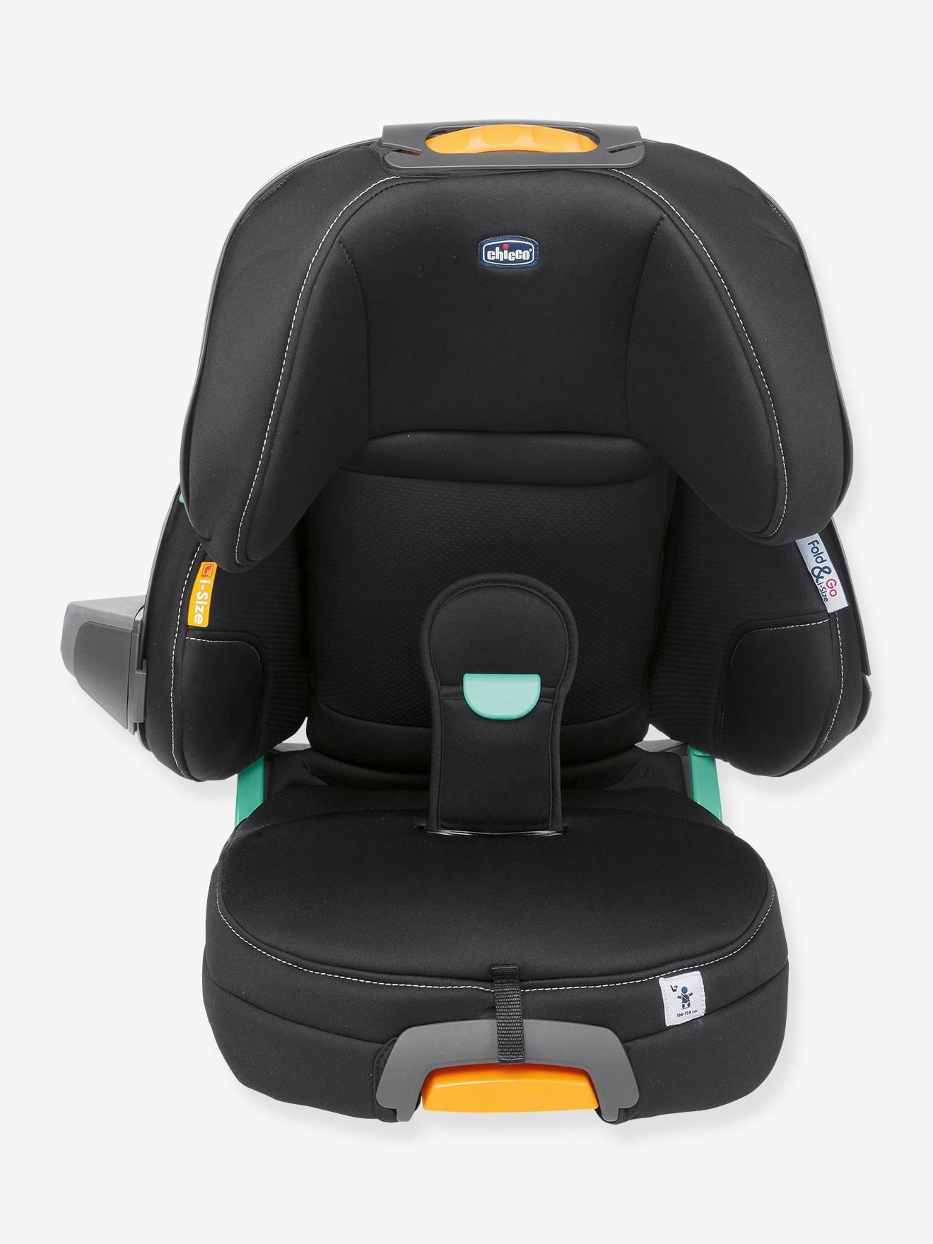 CHICCO Silla de coche Fold&Go i-Size CHICCO negro oscuro liso