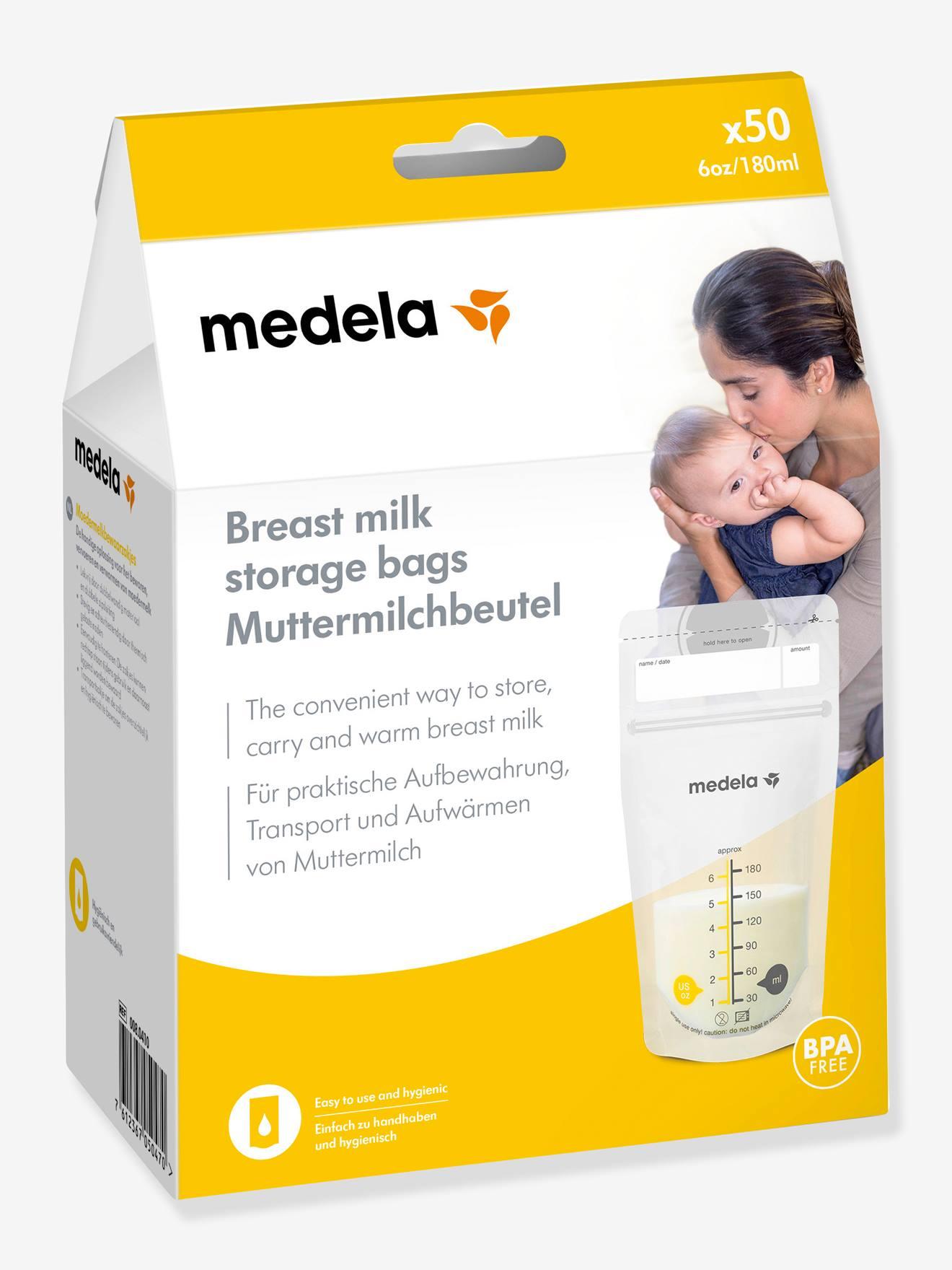 MEDELA Caja de 50 bolsitas de conservación de leche materna Pump & Save MEDELA no color